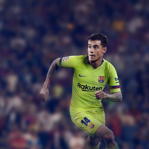 Sárgába öltözik idegenben a Barcelona a következő szezonban.