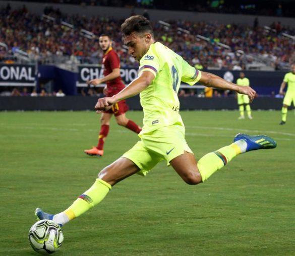 Vereség Dallas-ban: Barça – Roma 2-4
