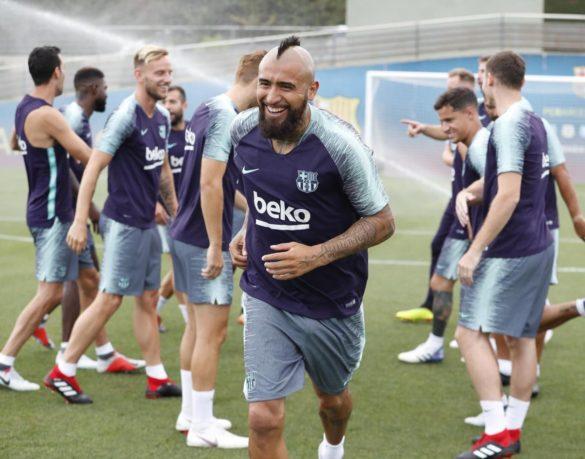 Vidal túl az első tréningen