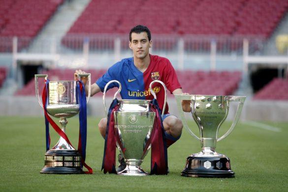 Sergio Busquets: 10 éve a nagyok között!