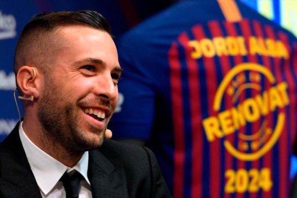 """Jordi Alba:  """"Számomra ez egy igen emocionális, különleges pillanat"""""""