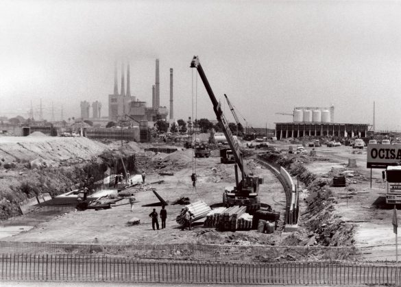 Barcelona, Víla Olímpica-negyed átalakulása 1987-1992 – III.