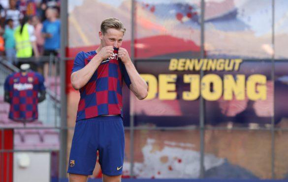 """De Jong: """"Mindig is az volt az álmom, hogy egy napon a Barçában játsszak"""""""